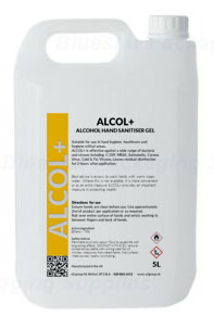 Alcol+ Alcohol Hand sanitiser gel