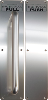 Hygi-Handle Push Pull Antibacterial Door Handles