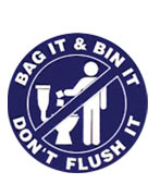 Bag it and bin it logo