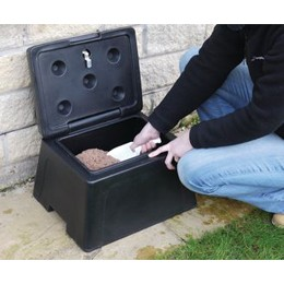 Mini Grit Bin for home use